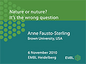 Nature or nurture? It's the wrong question: bringing the debate about difference into a modern framework